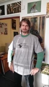 Tričko s logom RPS pánske šedé